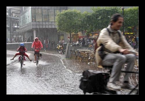 bike rain