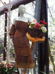 wood dress