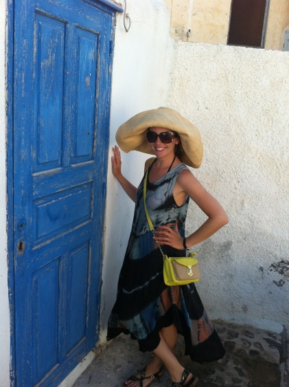 Santorini, typical door